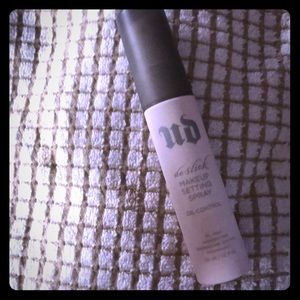 Other - Travel size urban decay setting spray